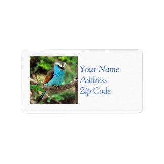 Beautiful Bluebird Mailing Label