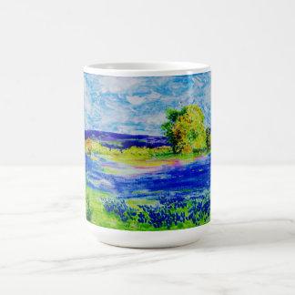 beautiful bluebonnets coffee mug