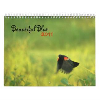 Beautiful Blur 2011 calendar