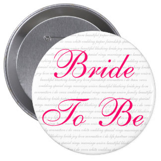 beautiful blushing bride joy love connection i ... button
