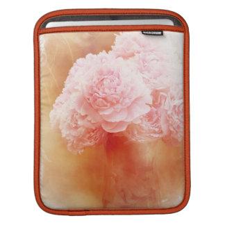 Beautiful Blushing Peony Bouquet Sleeve For iPads