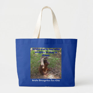 Beautiful Body Workout Plan from Krista O. Large Tote Bag