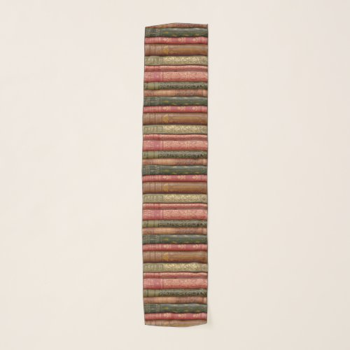 Beautiful Book Spines Scarf