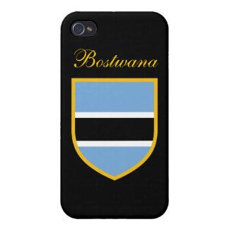 Beautiful Botswana Flag iPhone 4 Case