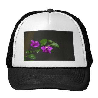 Beautiful bougainvillea flower trucker hat