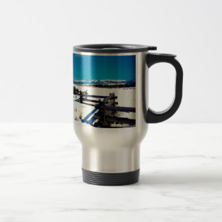"""Beautiful Boundary"" 15 Oz Stainless Steel Travel Mug"