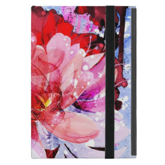 Beautiful bouquet of flowers cases for iPad mini