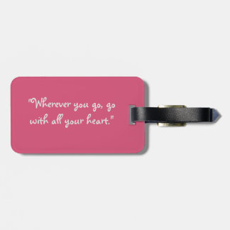 Beautiful Bouquet of Flowers Luggage Tag
