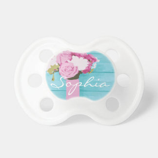 Beautiful Bouquet of Flowers Pacifier