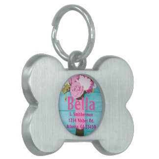 Beautiful Bouquet of Flowers Pet ID Tag