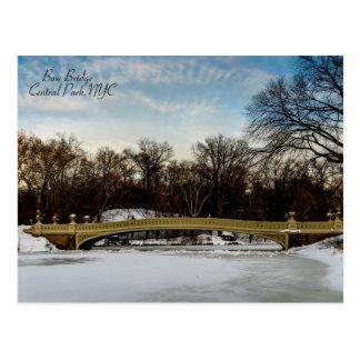 Beautiful Bow Bridge Postcard