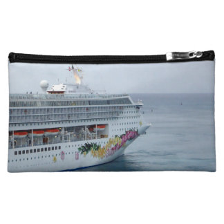 Beautiful Bow Cruise Travel Cosmetic Bag