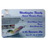 Beautiful Bow Custom Cruise Magnet