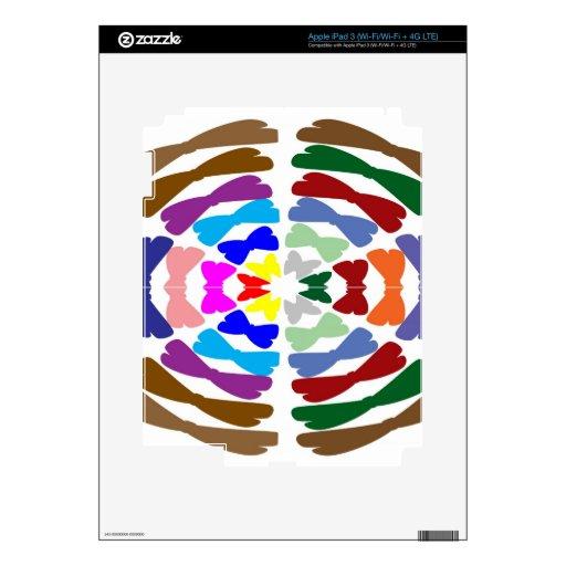 Beautiful Bow Tie Dance -  Enjoy n Share Joy iPad 3 Skin