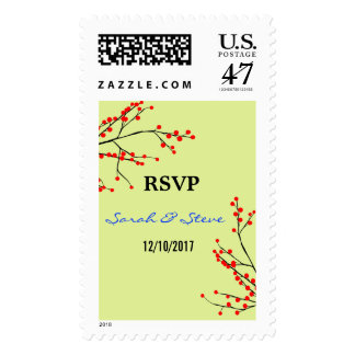 Rsvp stamps custom rsvp postage for Wedding rsvp cards stamps