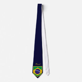 Beautiful Brazil Flag Tie