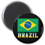 Beautiful Brazil Fridge Magnet