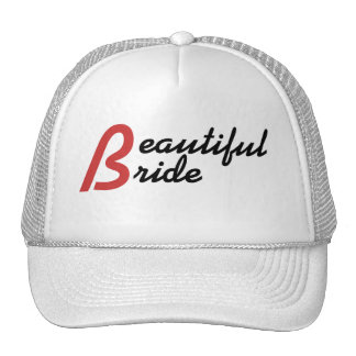 Beautiful Bride Hat