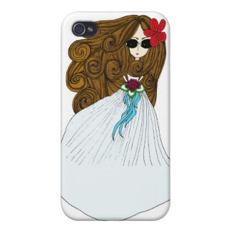 Beautiful Bride iPhone 4/4S Cover
