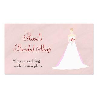 Beautiful Bride Wedding Business Card Templates