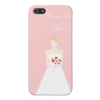 Beautiful Bride Wedding Cases For iPhone 5