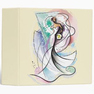 Beautiful Bride Wedding Notebook 3 Ring Binder