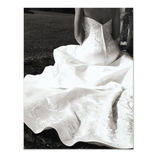 Beautiful Bride Wedding RSVP Card