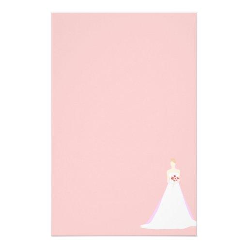 Beautiful Bride Wedding Personalized Stationery