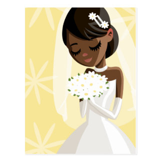 Beautiful Brides Postcard