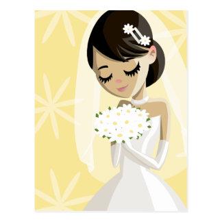 Beautiful Brides Postcard