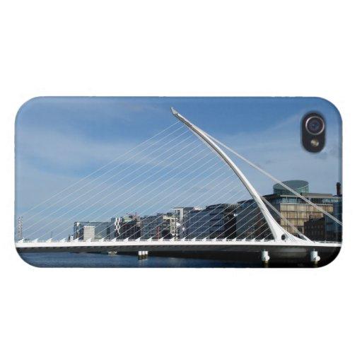 Beautiful Bridge in Dublin Ireland iPhone 4 Case