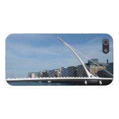 Beautiful Bridge in Dublin Ireland iPhone 5 Case at Zazzle