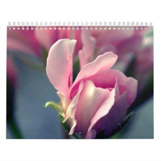 Beautiful Bright Colroful Flowers 2015 Calendar