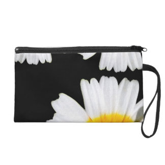 Beautiful Bright Flowers Wristlet