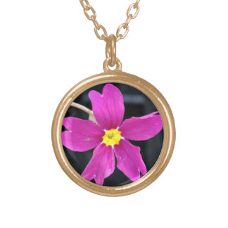 Beautiful Bright Pink Flower Jewelry