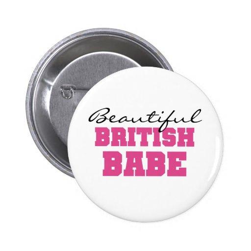 Beautiful British Babe Pins