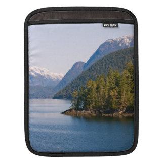 Beautiful British Columbia Mountains and Ocean iPad Sleeve