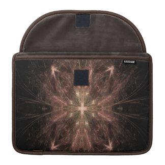 Beautiful Brown Cross Sleeves For MacBook Pro