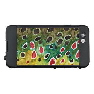 Beautiful Brown Trout Skin Painting, Fly Fishing LifeProof NÜÜD iPhone 6 Case