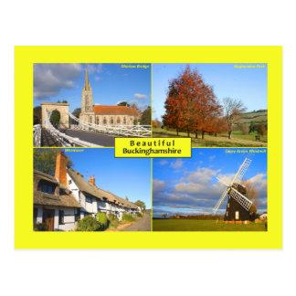 Beautiful Buckinghamshire Postcard