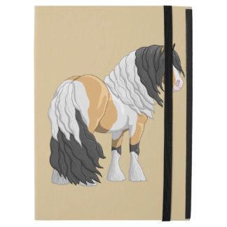 "Beautiful Buckskin Pinto Gypsy Vanner Draft Horse iPad Pro 12.9"" Case"