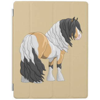 Beautiful Buckskin Pinto Gypsy Vanner Draft Horse iPad Smart Cover