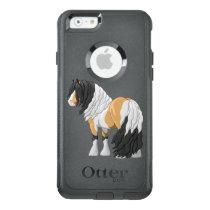 Beautiful Buckskin Pinto Gypsy Vanner Draft Horse OtterBox iPhone 6/6s Case