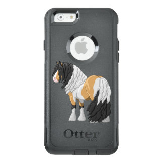 Beautiful Buckskin Pinto Gypsy Vanner Draft Horse OtterBox iPhone 6/6s Case