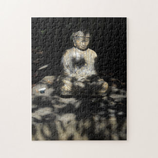 Beautiful Buddha statue with shadow heart Jigsaw Puzzle