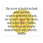 Beautiful Buddhist Quote with Vibrant Mandela Post Cards