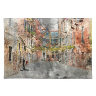 Beautiful Buildings in Venice Italy Placemat
