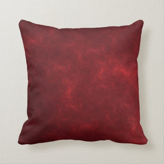 Beautiful burgundy pillow