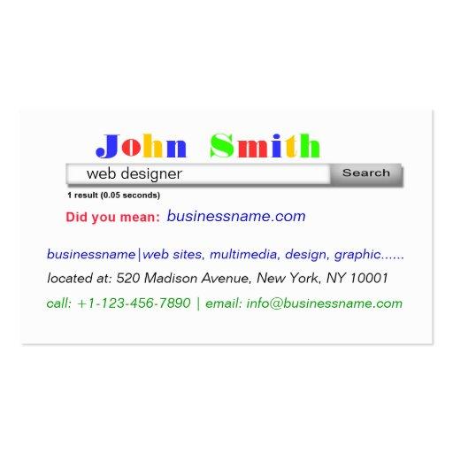 beautiful business card