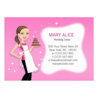 Beautiful Business Card for Bakery Cooks Chefs